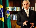 Бразильский президент Мишел Темер подозревается в коррупции