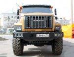 В России налажено производство новейших автомобилей на базе «Урала»