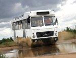 МАЗ создал уникальный автобус-внедорожник