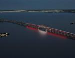 Национальное достояние России: Керченский мост обретёт цвета флага