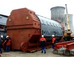 На площадку Белорусской АЭС доставлен статор турбогенератора