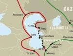 Ось транспортного «кольца» – Каспий