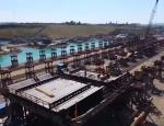 С опережением графика – в сети появилось новое видео строительства Керченского моста