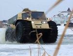 Сквозь лед и воду: в МЧС закупили российские супер-вездеходы «Шерп»
