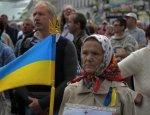 Феерия нищеты: Украинцам пытаются заткнуть рот коркой хлеба в центре Киева
