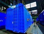 Выпущена первая малошумная  контейнерная дизельная электростанция