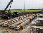 Названы сроки завершения работ на железной дороге в обход Украины