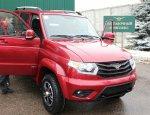 УАЗ перешел на инновационный метод электростатической окраски автомобилей