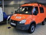 «Апельсин» от ГАЗа: модифицированный «Соболь 4х4» пошел в продажу