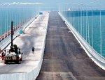 Строительство моста в Крым вышло на пиковую мощность