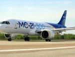 Первый полет новейшего лайнера МС-21 попал на видео