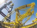 Мощность и размах: в России построен уникальный гигантский мостовой кран