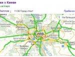 «Яндекс.карты» и «Яндекс.пробки» снова на Украине