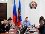 Плотницкий провел рабочее совещание по вопросу вывода экономики из тени