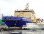 Ледокол нового поколения «Новороссийск» вышел в первый рейс