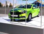 Яркая премьера новой Lada: Электрическая Vesta EV впечатлила гостей Expo-17