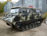 Российский проект «Ветлуга»: гусеничный вездеход на базе «буханки»
