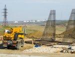 Стройка века идет интенсивно: вырисовываются автоподходы Керченского моста