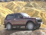 Новый внедорожник LADA 4x4 проходит тестирование в пустыне ОАЭ