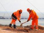 Опубликованы кадры новой смотровой площадки Керченского моста