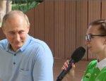 Юная крымчанка рассказала Путину о Керченском мосту: «Великий и огромный»