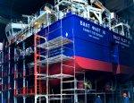 Морской гигант России: первый танкер проекта RST27M спущен на воду