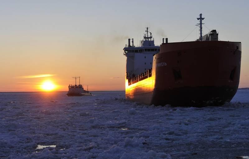 Северный морской путь набирает обороты: грузопоток удвоился